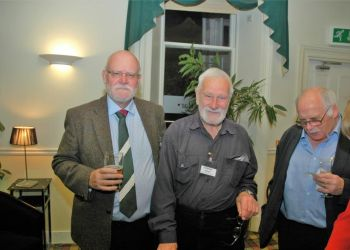 Lord Alan Haworth, Hamish Brown and John Donohoe